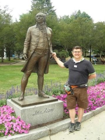 Touring Boston with John Adams