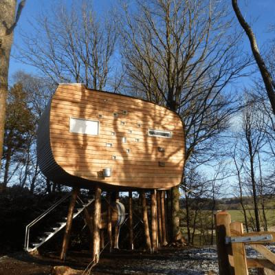 brockloch treehouse dumfriesshire