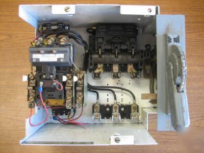 Allen bradley size 2 fused starter mcc bucket 709COB103