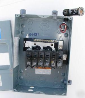 Homeline load center HOM612L100 fuse box wphoto 100A