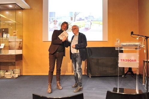 Boekpresentatie 'De Fries die in de toekomst sprong' van Huub Mous
