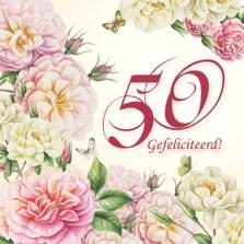 Huwelijkswensen 50 jaar kaartje