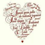 huwelijkswensen hartje
