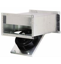 HVACQuick  Fantech FRD Inline Rectangular Low Profile
