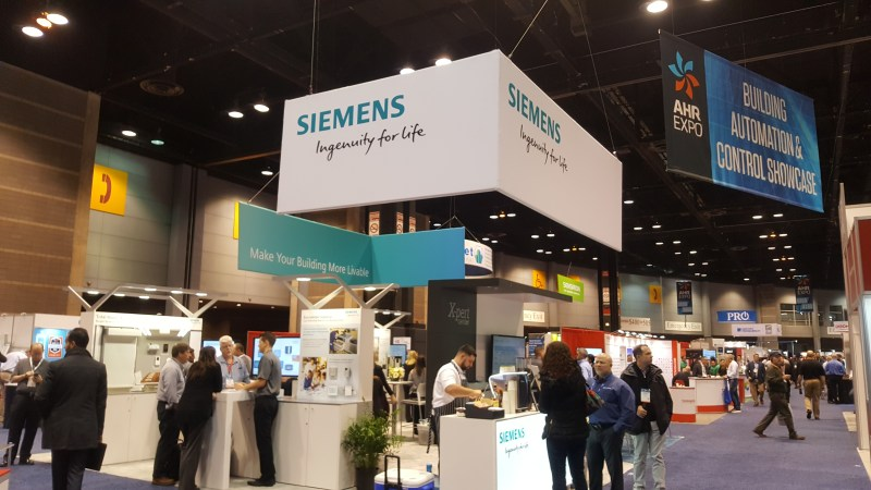 Siemens At Ahr Expo