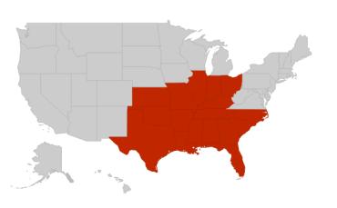 HVAC RepCo Sales Territory