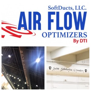 SoftDucts Fabric Air Ducts Custom Logo Available