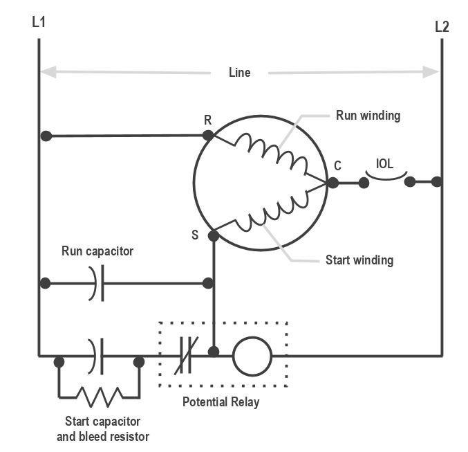 Relay Wiring Diagram Also Copeland Scroll Pressor Wiring Diagram On