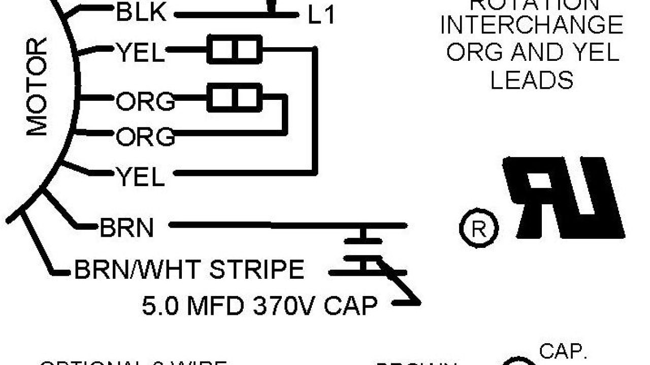 3 wire and 4 wire Condensing Fan Motor Connection - HVAC  Sd Ac Fan Motor Wiring Diagram on ac motor speed control circuit diagram, ac motor wire colors, ac electric motors, ac motor reversing direction, ac fan motor speed control, ac capacitor diagram, ac fan speed control circuit, cbb61 fan capacitor schematic diagram, switch circuit diagram, 3 phase motor connection diagram, ac fan motor replacement, ac motor how it works, multi speed fan motor diagram, ac motor schematic diagram, ac condenser fan motor wiring, ac switch wiring, ac motor wiring color code, ac unit fan motor, electric motor diagram, ac unit diagram,