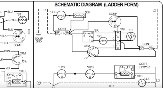 how to read ac schematics and diagrams basics  hvac school