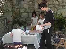 Saturday morning art group