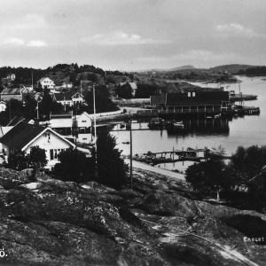 Postk Ormelet postet 1939 A. Mathisen