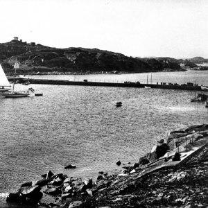 Utsyn fra Holmen før 1940