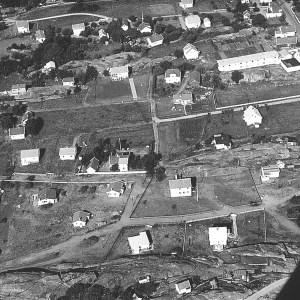 Fjellhøi - flyfoto