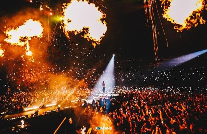 UK Media, Guardian also say Davido's 02 Arena concert wasn't 'sold out'