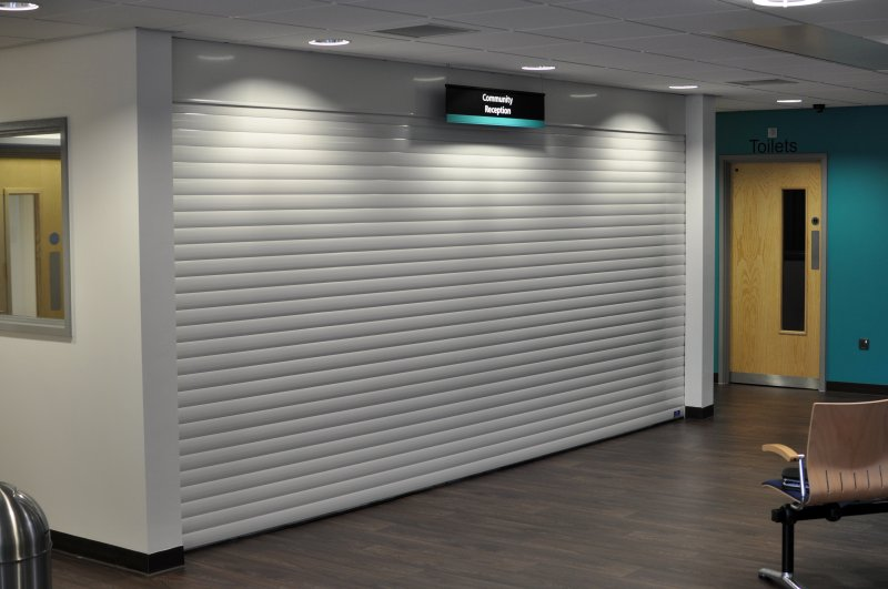 K77K55 Foam Filled Aluminium Roller Shutters Lightweight Small Quiet