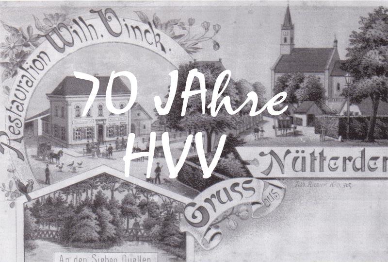 HHV-Nütterden feiert den 70. Geburtstag