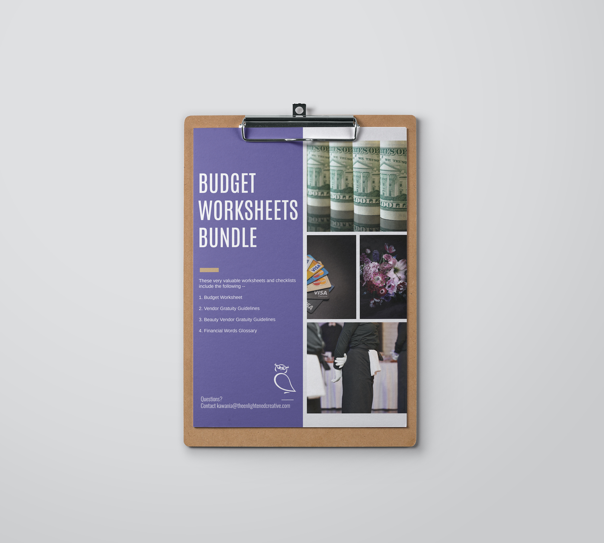 Budget Worksheet Vendor Gratuity Guidelines And Glossary