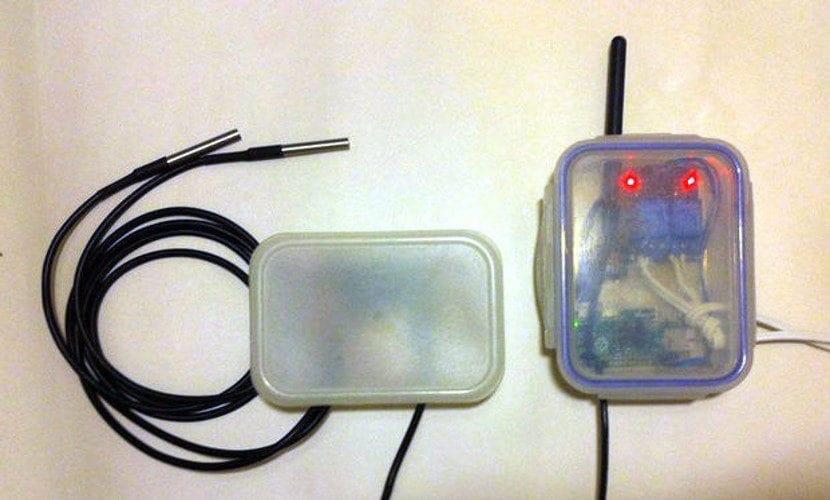 Monitor de temperatura con raspberry para una casa domótica