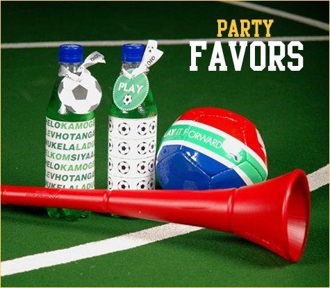 world cup and soccer party ideas