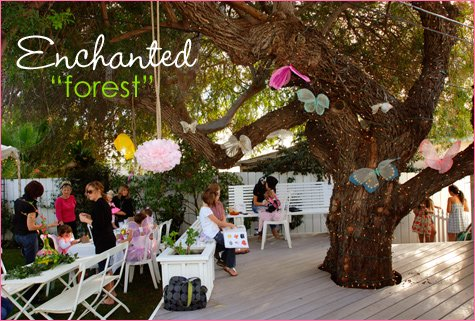 enchanted fairy first birthday party