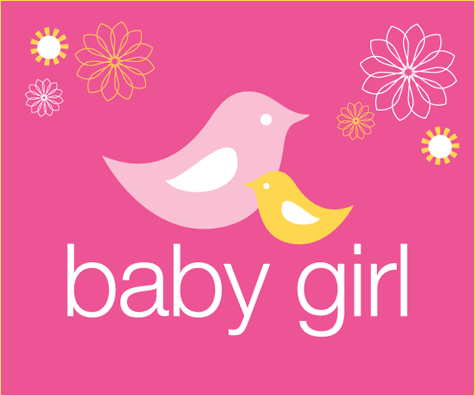momma bird baby shower signs