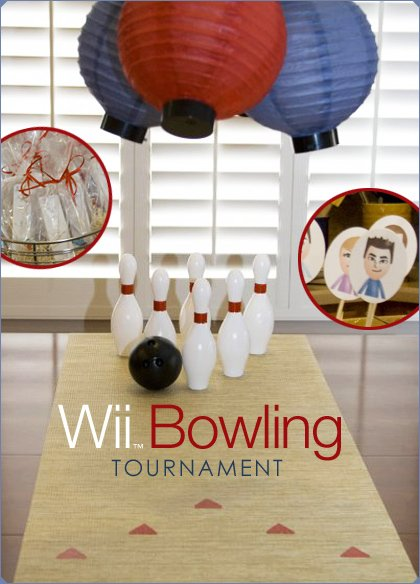 Wii Bowling Tournament Party