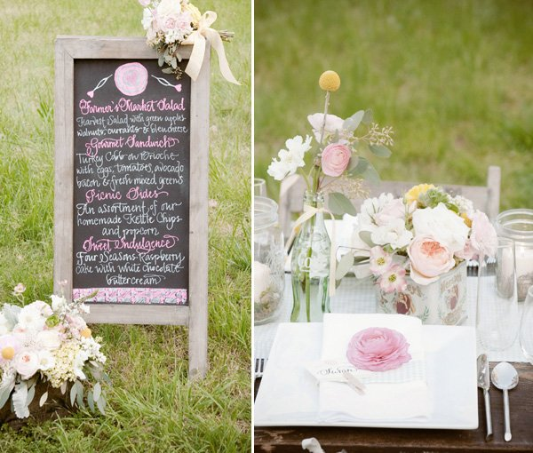 vintage style 40's inspired wedding