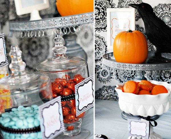 Vintage Gothic Glam Halloween Party