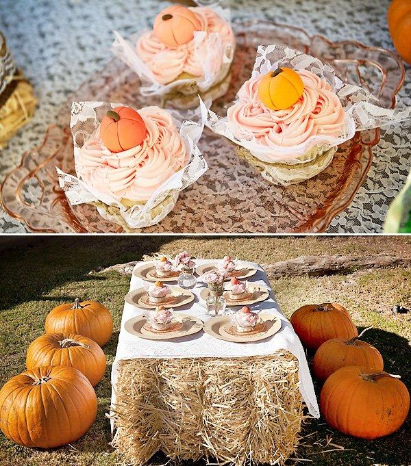 vintage pumpkin first birthday party ideas