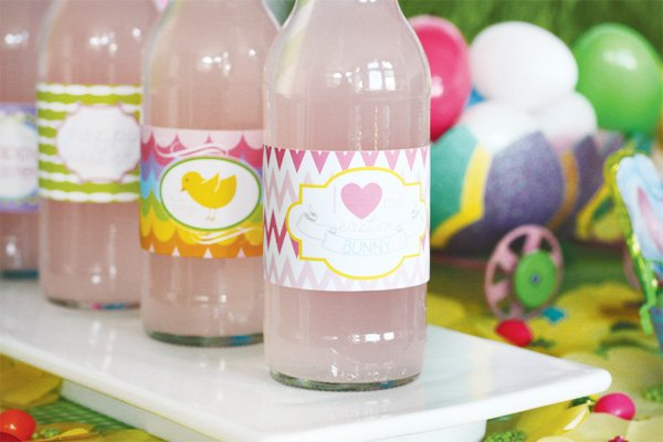 easter bunny collection pink soda wrappers