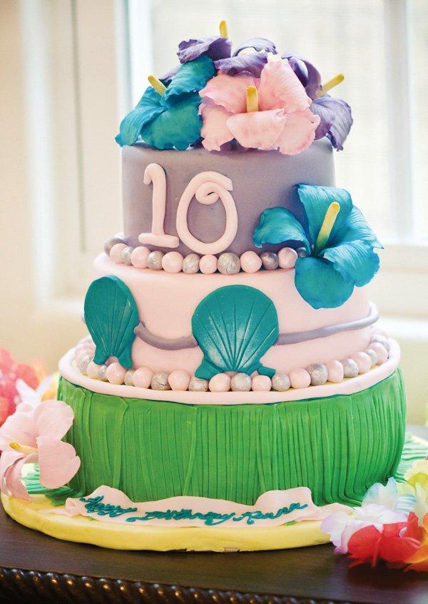 Hawaiian Luau Inspired Birthday Party Hostess With The