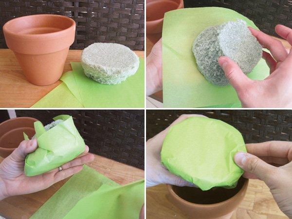 marshmallow mother's day tutorial flower pot