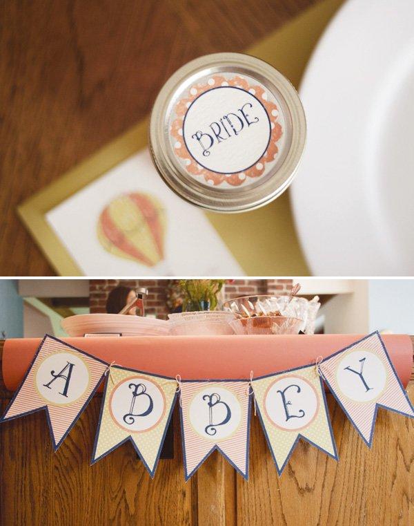 bride bunting banner