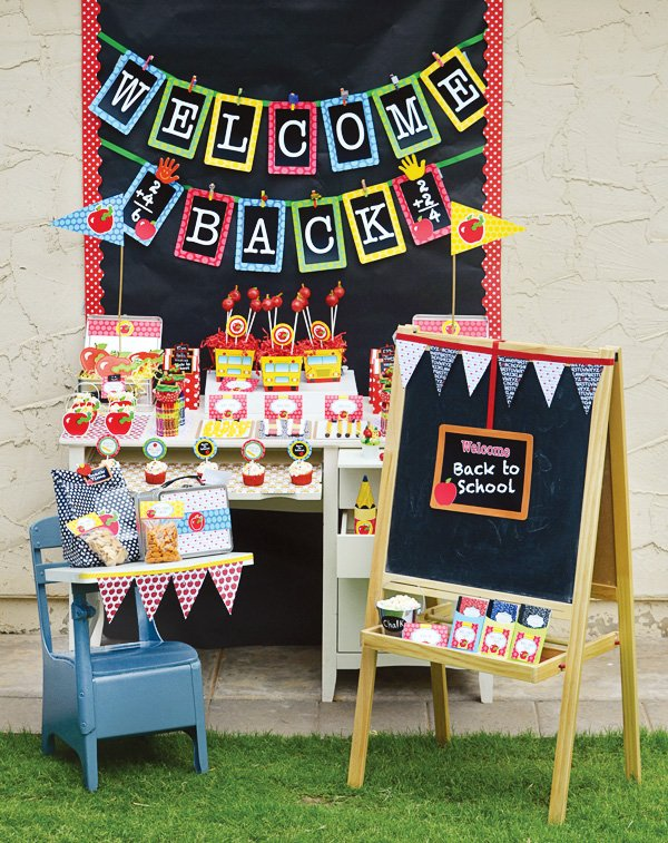 Back To School Party Ideas FREE Printables Hostess
