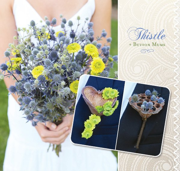 budget bouquet and boutonnieres ideas