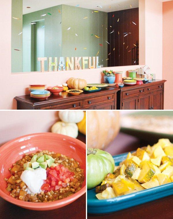 southwest thanksgiving spread