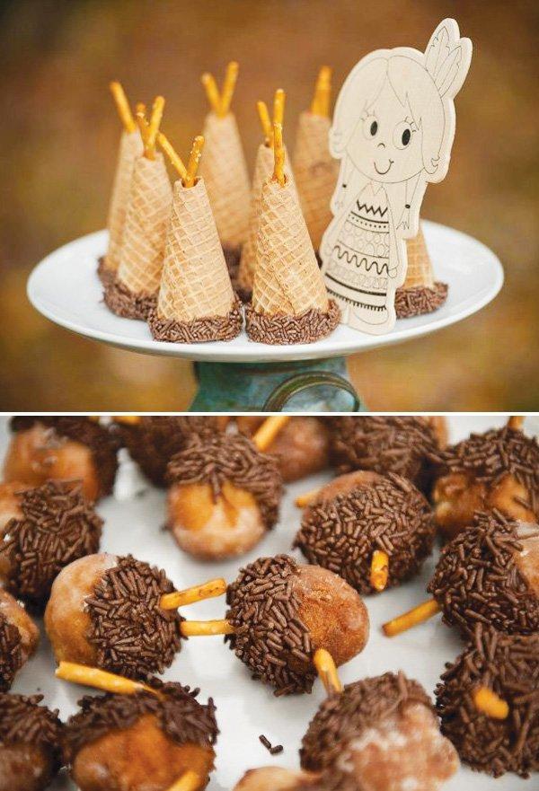 waffle cone tee pee
