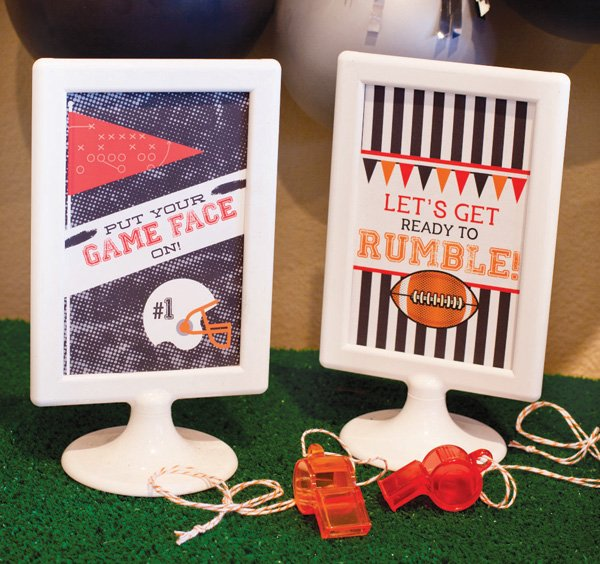 football party decoration ideas