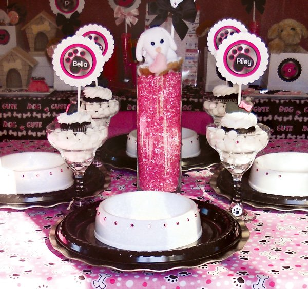 budget chic puppy luv valentine's day party