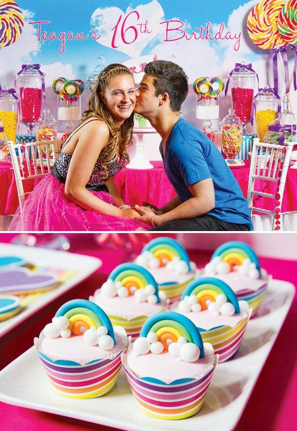 Katy Perry Inspired Teenage Dream Sweet Sixteen