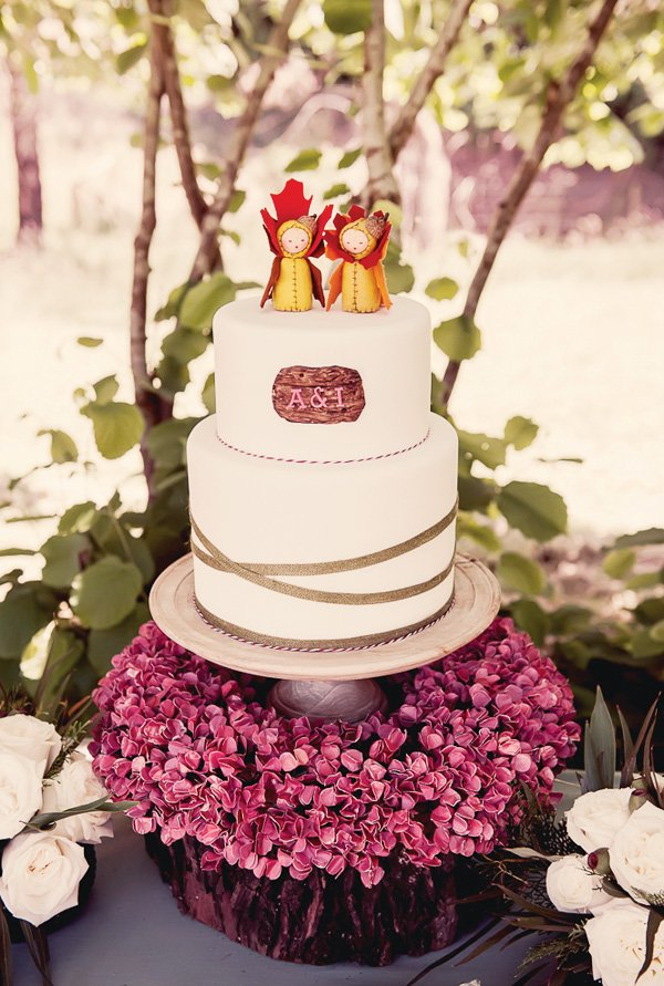 sweet twins birthday cake