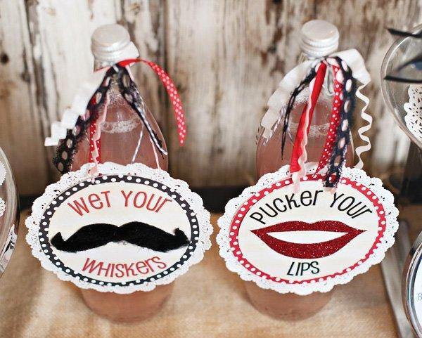 valentine drinks signs