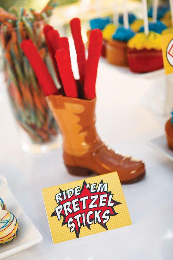 cowboy boot decoration