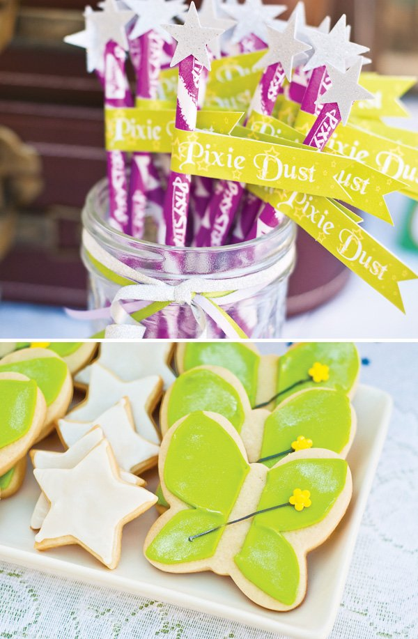 Tinkerbell Pixie Dust and Fairy Cookies
