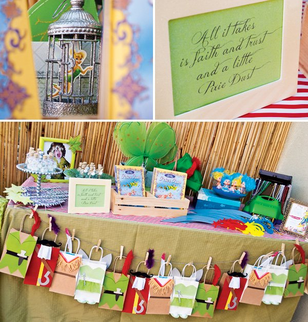 Peter Pan Party Goodie Bags