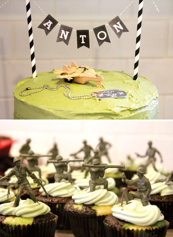 Awesome Army Boot Camp Birthday Party // Hostess with the Mostess®