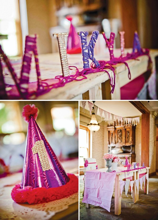 pink and purple party