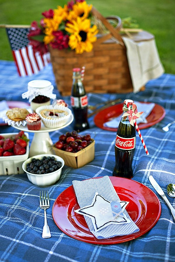 vintage 4th of july picnic party