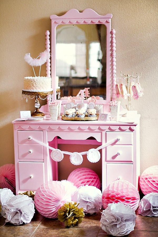 Ballerina dessert table